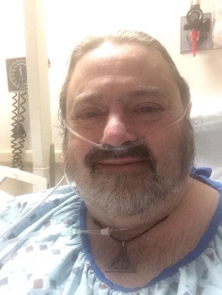Hospital Selfie - Nov 30, 2018