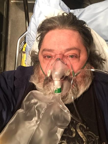 In the ambulance, November 19th, 2018